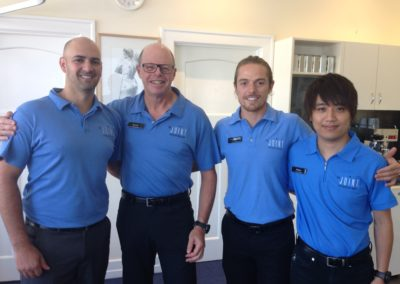 Adam, Bernie, Simon and Katsu 2